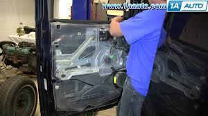 how to install replace front inside door handle 2003 13 gmc savana