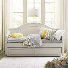 White Wood Daybed With Trundle Best 25 Trundle Daybed Ideas On Pinterest Daybed Girls Daybed