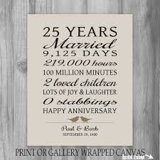 best 25 25th anniversary gifts ideas on pinterest parents