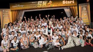 runners participate walt disney 5k dressed 101