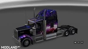 kenworth w900 model truck big henk space kenworth w900 skin mod for american truck simulator