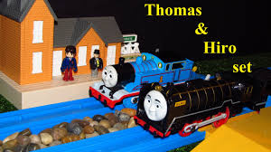 Trackmaster Tidmouth Sheds Ebay by Tomy Plarail Japanese Hiro U0026 Thomas At The Station Unboxing Review