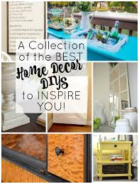 a collection of some of the best home decor diys to inspire you