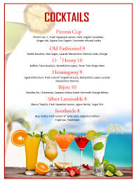 drink menu template free cocktail menu template templates franklinfire co