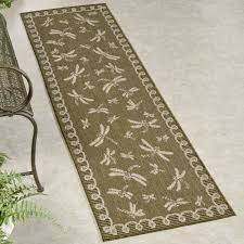 Indoor Outdoor Rug Runner Dragonfly Flight Indoor Outdoor Rug Runner By Liora Manne