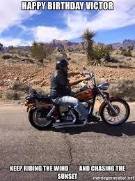 Funny Motorcycle Meme - happy birthday motorcycle meme funny image photo joke 03 quotesbae