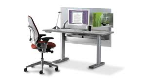 steelcase sit stand desk shop steelcase series 7 electric height adjustable desk