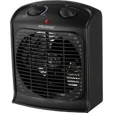 space heater and fan combo pelonis portable fan heater walmart com