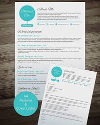 Resume Cover Letter Templates Word Free Resume And Cover Letter Builder Resume Template And