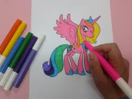 how to color my little pony coloring pages free coloring pages