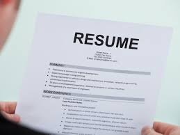 Ideal Resume For Someone With No Experience Business Insider by Things To Bring To A Job Interview Business Insider