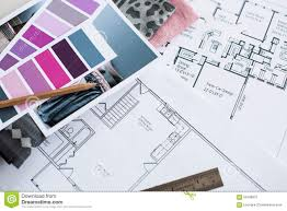 interior designers working table stock photo image 59166837