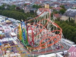 munich looping world s largest transportable rollercoaster at