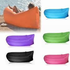 Sofa Bed Inflatable by Inflatable Camping Laybag Sofa Bed Portable Hangout Float Bean Bag