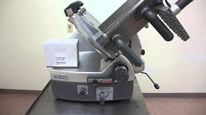 hobart 2912 automatic and manual meat cheese turkey chicken slicer