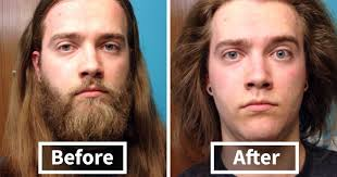 Guy With Mustache Meme - 10 men before after shaving that you won t believe are the same