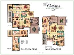 cottage floorplans the cottages at national a residence club in the