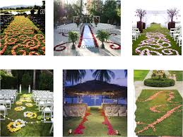 tips and ideas for wedding aisle flowers and décor a passion for
