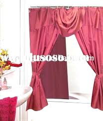 shower curtain with valance double shower curtains with valance tie back throughout curtain plan shower curtain