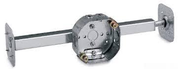 ceiling fan junction box steel city 54151cfb bhl ow pre galvanized steel octagon ceiling fan