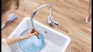 grohe essence kitchen faucet grohe 32665dc1 concetto spray head kitchen faucet review youtube