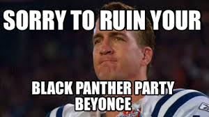 Beyonce Meme Generator - meme creator sorry to ruin your black panther party beyonce