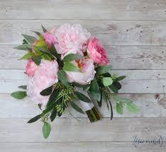 pink bouquet wedding bouquet bridal bouquet wedding flowers artificial