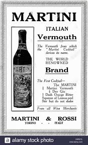 martini and rossi poster original 1920s vintage print advertisement from english country