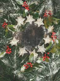 christmas branches with lights holiday background with real pine branch and lights christmas frame