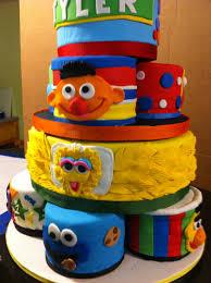 red velvet sesame street birthday cake 10 character cakes