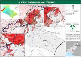 sukkur map sukkur sindh risk analysis map alhasan systems limited