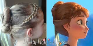 anna from frozen hairstyle pretty hair is fun anna s coronation hairstyle from disney s