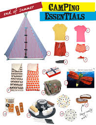 nursery notations camping essentials by sheridan french