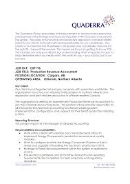 Sample Underwriter Resume by Revenue Accountant Cover Letter