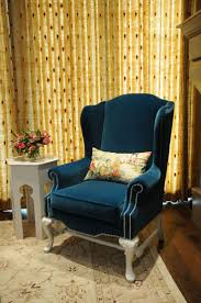 Swivel Wing Chair Design Ideas Blue Velvet Wingback Chair Modern Chairs Quality Interior 2017