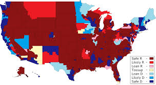 House District Map Daily Kos Elections House Race Ratings Initial Ratings For 2014