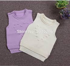5pcs boys girls knitwear vest 2016 new spring children patterns