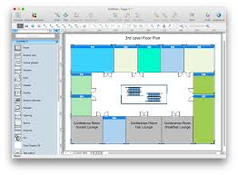 Home Floor Plan Visio by Conceptdraw Pro Compatibility With Ms Visio How To Create A