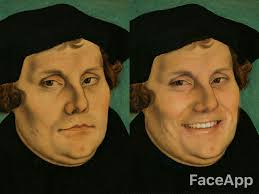 Meme Face App - smiling luther blank template imgflip