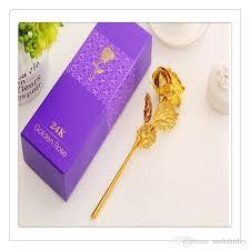wedding flowers hshire 2018 wholesale 24k gold foil flowers wedding supplies party