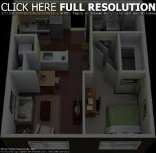 apartments 1 bedroom houses bedroom apartment house plans