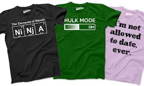 humorous graphic tees groupon goods