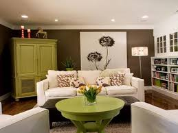 astonishing brown and lime green living room 36 for your