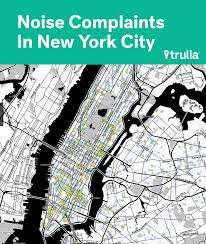 Crime Map New York by Mapping Ear Plug Hotspots Trulia U0027s Blog
