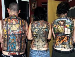 11 best stained glass tattoos images on pinterest awesome