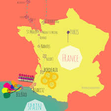 France On Map by Biaritz Bastille Day And Bayonne U2013 France Indonesia In My Pocket