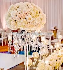 chandelier centerpieces mh tz028 chandelier centerpieces wedding table