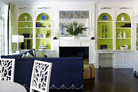 amazing green and blue living room for your home decor arrangement