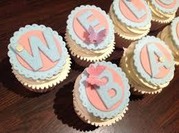 personalised cupcakes 9 best personalised cupcakes images on personalised
