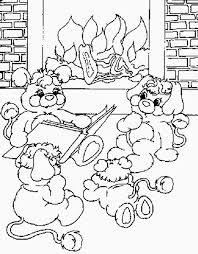popples colouring pages 2 coloring
